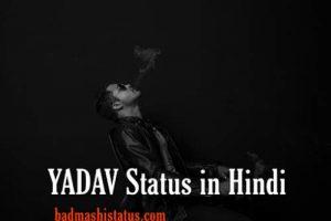 Yadav Status in Hindi – यादव स्टेटस हिंदी में