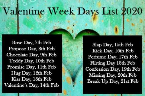 Valentine-Week-Days-List