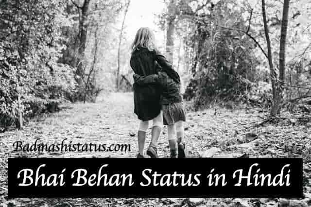 Best 60+ Bhai Behan Status in Hindi 2020 – Bhai Behan ka Pyar Status