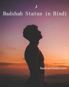Best 100+ Attitude King Status in Hindi 2020 – Badshah Status